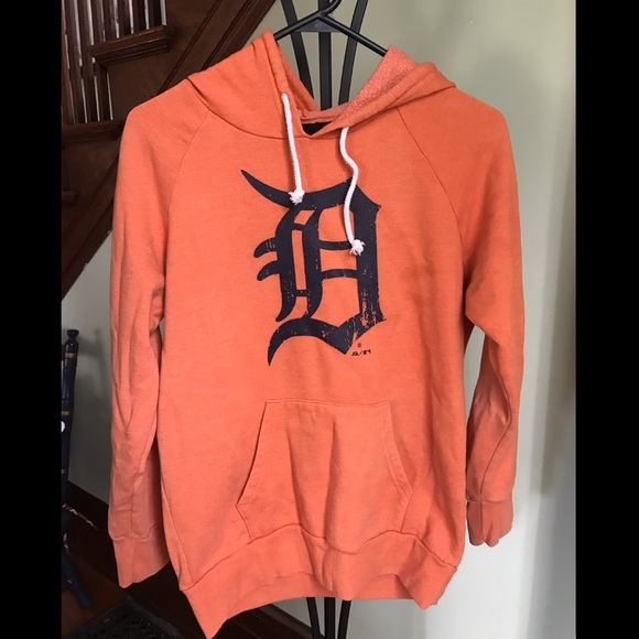 competitive price 7db1e 85b2c Majestic Thread - Detroit Tigers Hoodie
